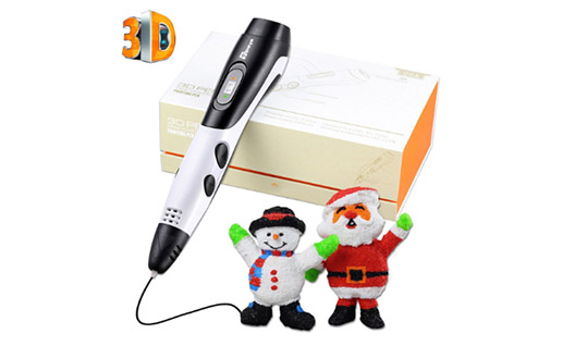 3D Pen for Kids with 7.5M long 1.75MM PLA - 2017 Tipeye Newest Version 3D