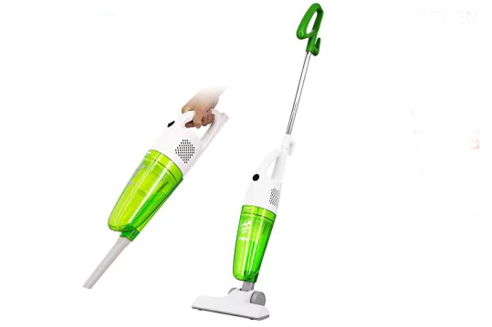 Pooda K8 2-in-1 Vacuum Cleaner Powerful Dust Catcher green