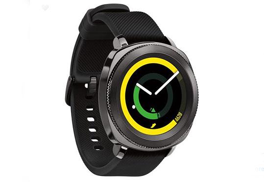 Samsung Gear Sport Smartwatch with Bluetooth, 1.0 GHz Dual-Core CPU, 0.75GB RAM + 4GB ROM, Tizen OS