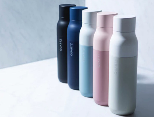 Smart Self Cleaning Water Bottle with on-the-go Purification