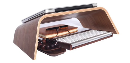 Universal Notebook Stand Wooden Holder for Laptops