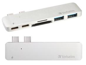 Verbatim Aluminum Type-C Dual Hub MacBook USB Adapter review