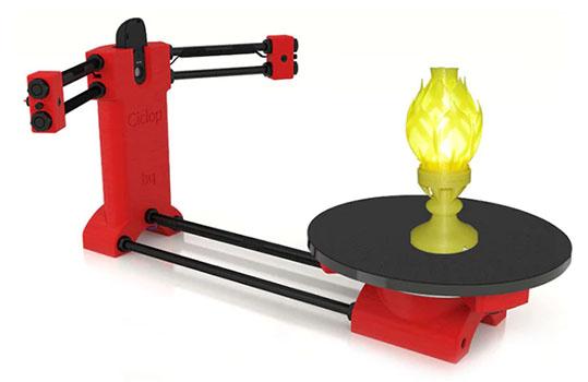 Ciclop Desktop Laser 3D Scanner