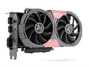 Colorful iGame 1050Ti Gaming Video Graphics Card Back