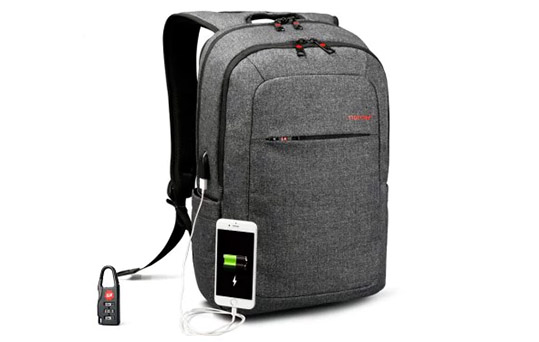 External USB Charge Backpack