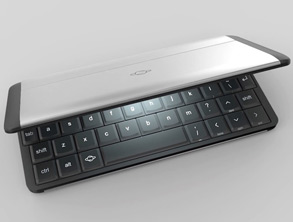 Gemini mobile Device With a Full Tactile Keyboard!