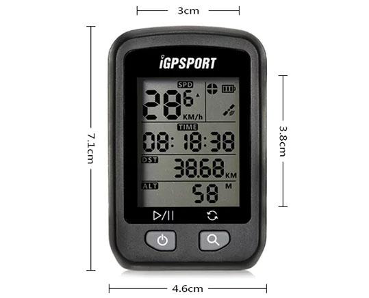 GPSPORT iGS20E Bike Computer