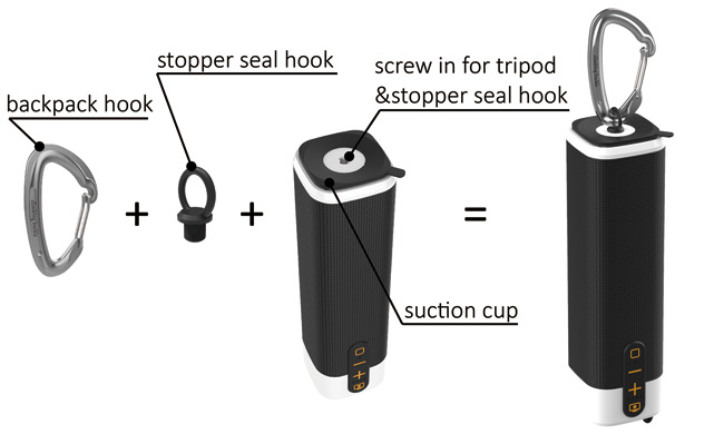 integrated power bank
