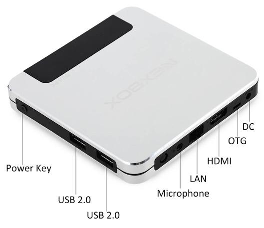 NEXBOX T9 Mini PC TV Box