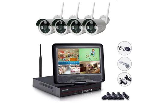 NH96004 Wireless 4CH NVR Kit