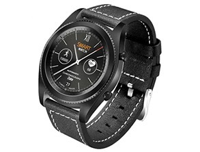 NO 1 S9 Heart Rate Smartwatch Black