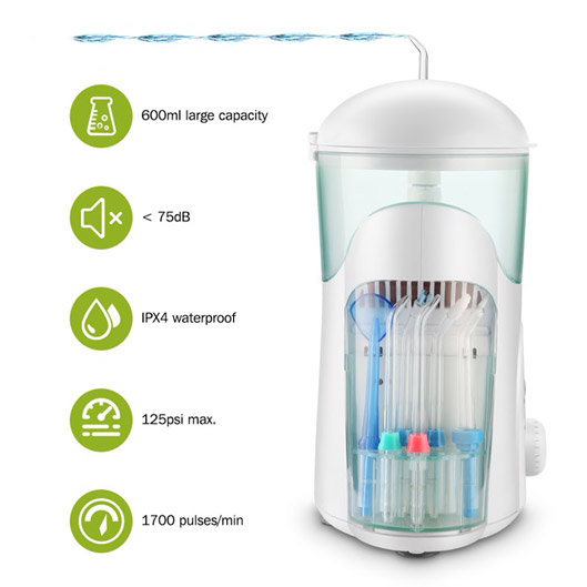 Oral Irrigator Water Flosser With Big