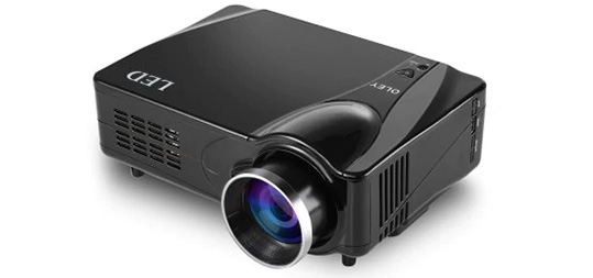 D9HB Home Entertainment LED Projector