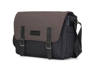 Water Resistant Camera Messenger Brown