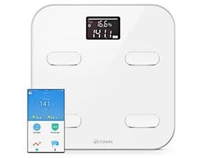 YUNMAI M1302 Smart Weighing Scale White