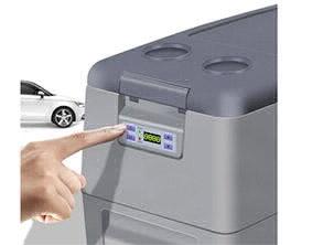 20P Portable Car Refrigerator Gray