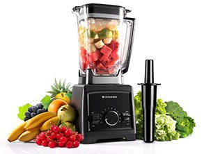 Alfawise Professional Blender Black