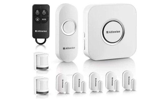 Alfawise SA - 1168 - T90 Security Alarm