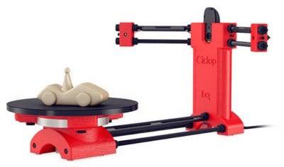 Budget Desktop Laser 3D Scanner