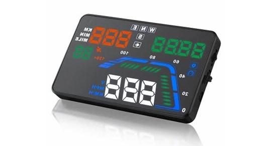 Car Speed Projector Display