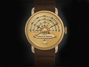 Creative Tactical Unique Men Watch Golden