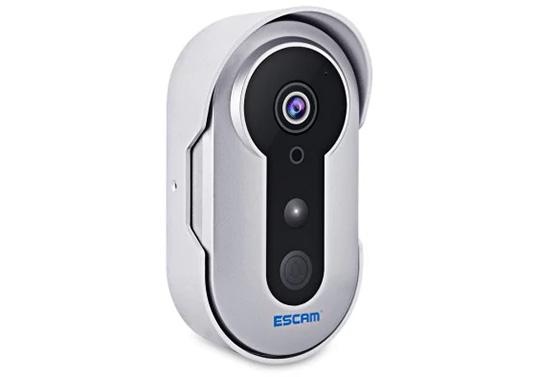 ESCAM QF220 Visible Doorbell IP IR Camera