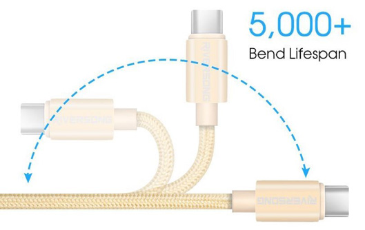 Fast Charging USB-C to USB Cable