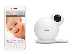 iBaby M6S Smart Digital Baby Monitor White