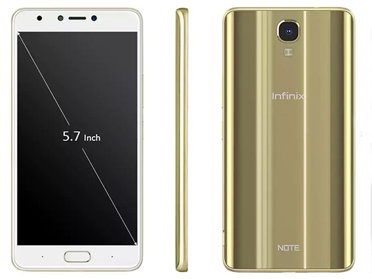 Infinix Note 4 4G Phablet