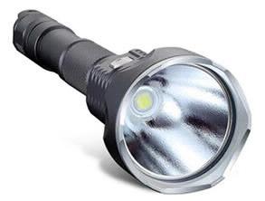 6500K LED Flashlight black