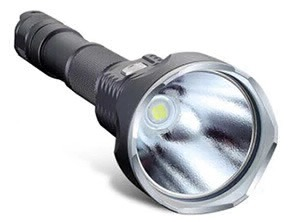 6500K LED Flashlight black