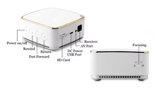 K20 Portable Home Android LED Projector