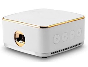 K20 Portable Home LED Projector White