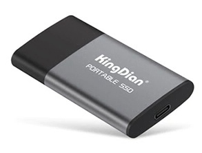 KingDian P10 Portable SSD Gray