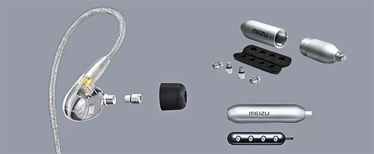 MEIZU LIVE Quad Unit Drivers Dynamic Earphone