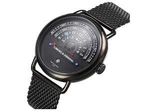 New Creative Casual Quartz Watch black