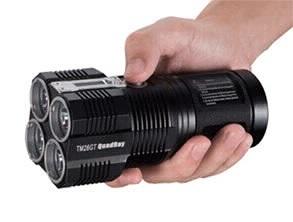 Nitecore TM26GT LED Flashlight Black
