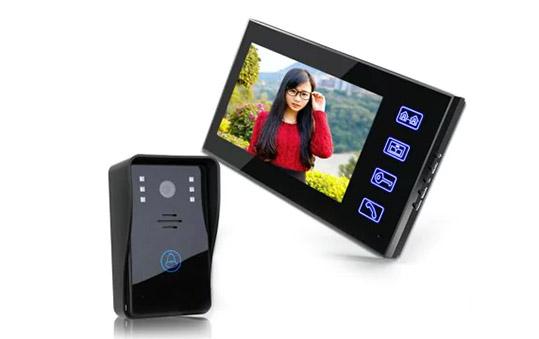 SY816A11 7 Inches Video Door Phone Intercom Doorbell