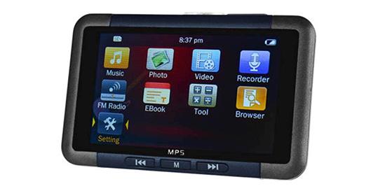 8G RAM HD Screen MP5 Player