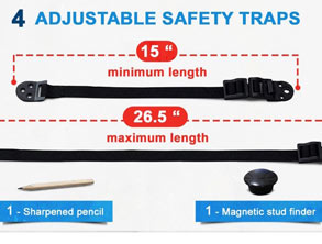 Anti-Tip Straps Kit