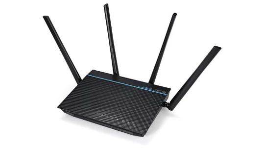 ASUS RT - ACRH17 AC1700 Gigabit WiFi Router