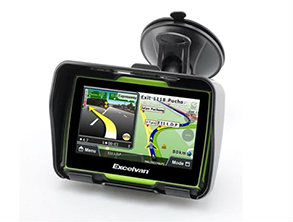 GPS-W-40 Car GPS Navigation Black