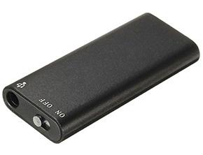 Hidden Voice Recorder Dictaphone Black