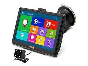 Junsun D100 Bluetooth AV Car GPS Navigator Black