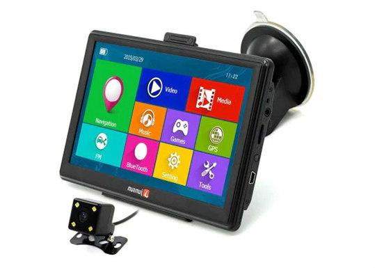 Junsun D100 Bluetooth AV Car GPS Navigator