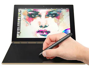 Lenovo Yoga Book Digital Drawing Tablet PC Black