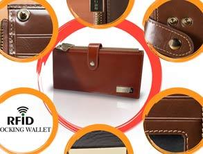Luxury Genuine Leather Women's Wallet