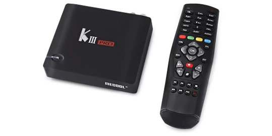 MECOOL KIII PRO DVB TV Box Android