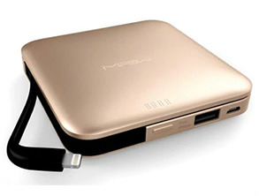 MFI Universal Mobile Power Bank Golden