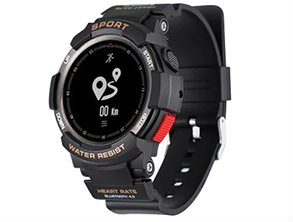 NO 1 F6 Smartwatch Black